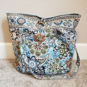 Vera Bradley Large Shoulder Tote Bag